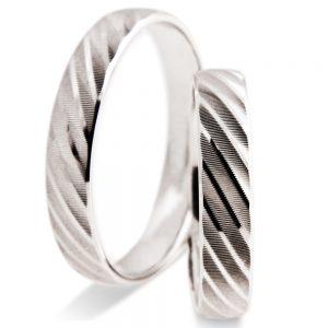 Srebrni poročni prstani S 110