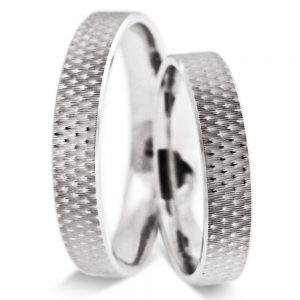 Srebrni poročni prstani S115