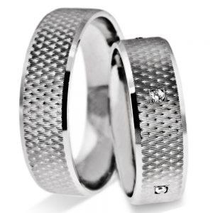 Srebrni poročni prstani S126