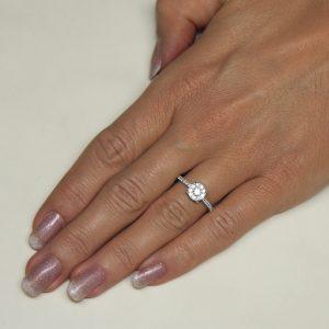 Zaročni prstan 66 - briljant-2