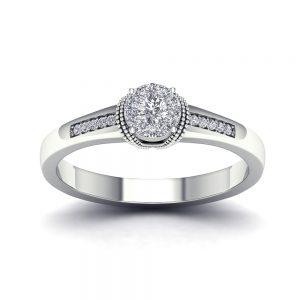 Zaročni prstan 71 - briljant