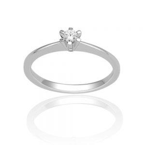 Zaročni prstan 34 - briljant