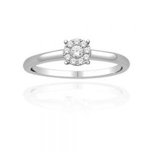 Zaročni prstan 36 - briljant