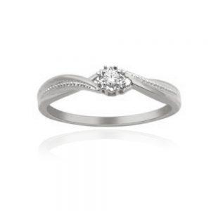 Zaročni prstan 37 - briljant