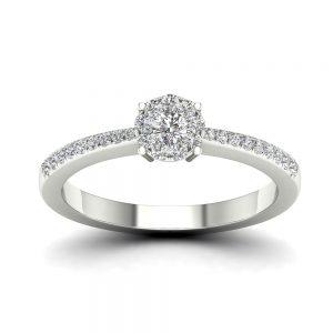 Zaročni prstan 74 - briljant
