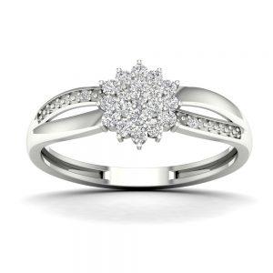 Zaročni prstan 75 - briljant