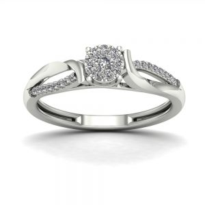 Zaročni prstan 77 - briljant