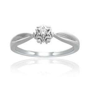 Zaročni prstan 43 - briljant