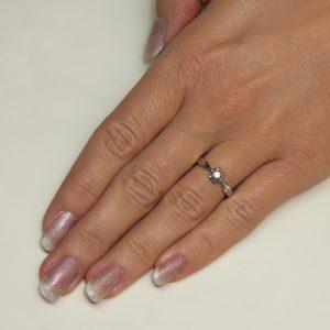 Zaročni prstan 43 - briljant-2