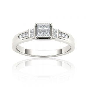 Zaročni prstan 46 - briljant
