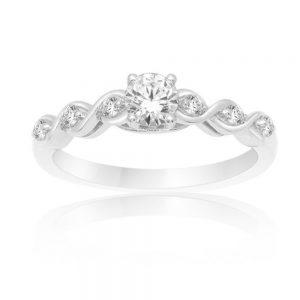 Zaročni prstan 65  - briljant