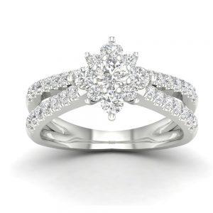 Zaročni prstan 58  - briljant