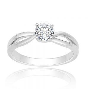 Zaročni prstan 61  - briljant