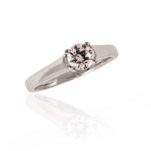 Zaročni prstan 55 - briljant