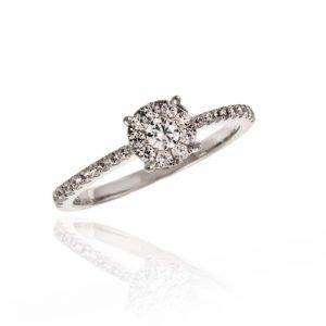 Zaročni prstan 54 - briljant