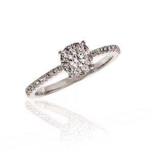 Zaročni prstan 66 - briljant
