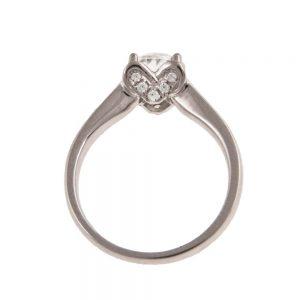 Zaroči prstan 53 - diamant-2