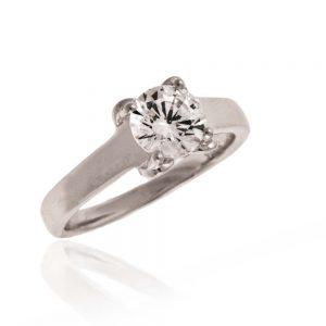 Zaroči prstan 53 - diamant