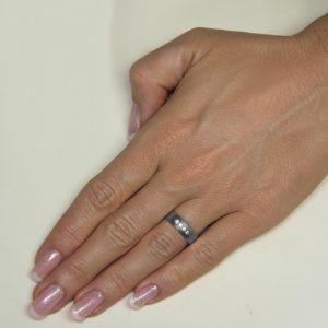 Srebrni poročni prstani S77-2