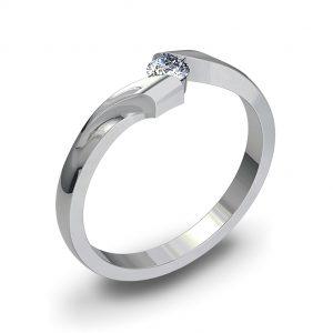 Zaročni prstan 62  - briljant