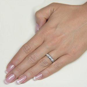 Srebrni poročni prstani S 110-2