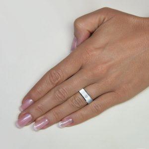 Srebrni poročni prstani S126-2