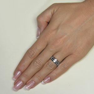Srebrni poročni prstani S131-2