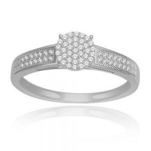 Zaročni prstan 38 - briljant