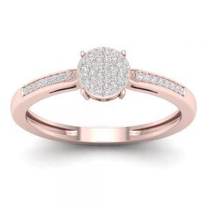 Zaročni prstan 40 - briljant