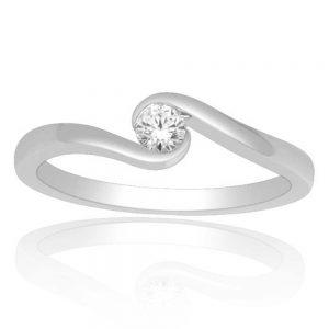Zaročni prstan 47  - briljant