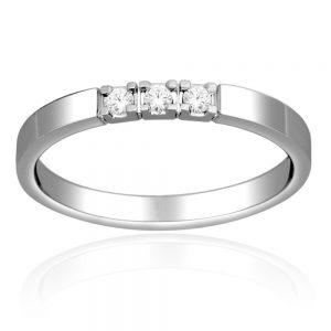 Zaročni prstan 45  - briljant