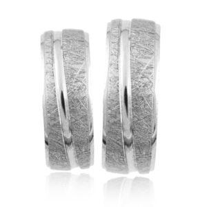 Srebrni poročni prstani S 001
